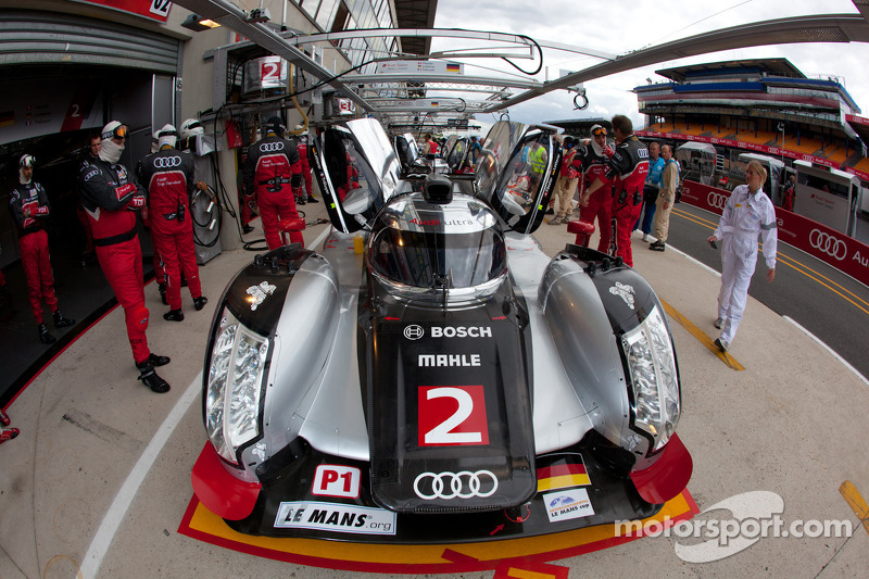 Audi Le Mans Wednesday Report