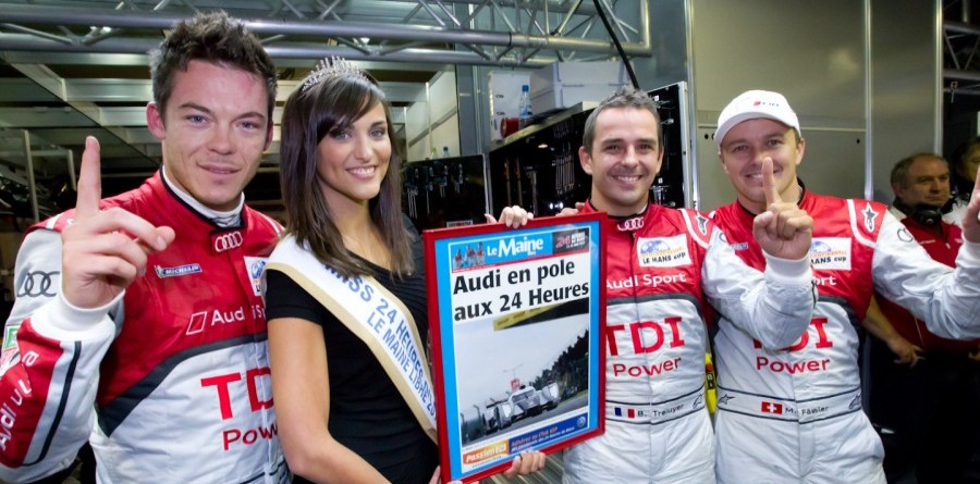 Treluyer Gives Audi First Le Mans Pole In Five Years