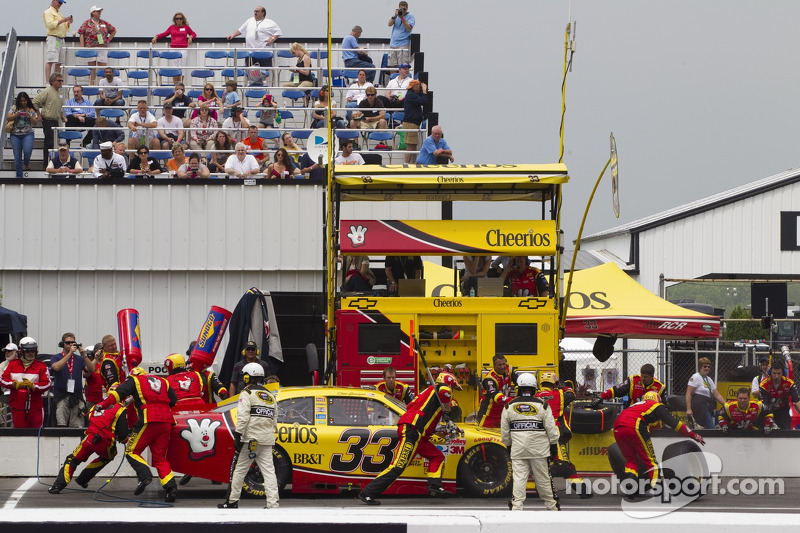 Richard Childress Racing Michigan Race Report