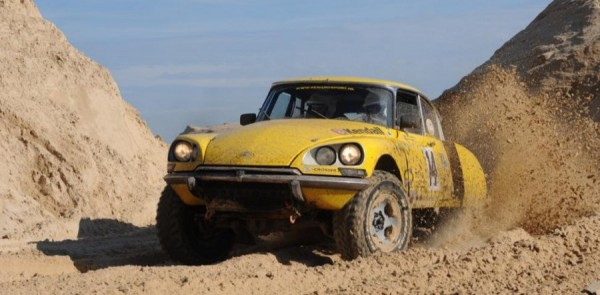 Double Dutch - A Citroen/Toyota Rally Raid Monster