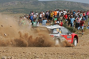 WRC Petter Solberg Acropolis Rally Event Summary