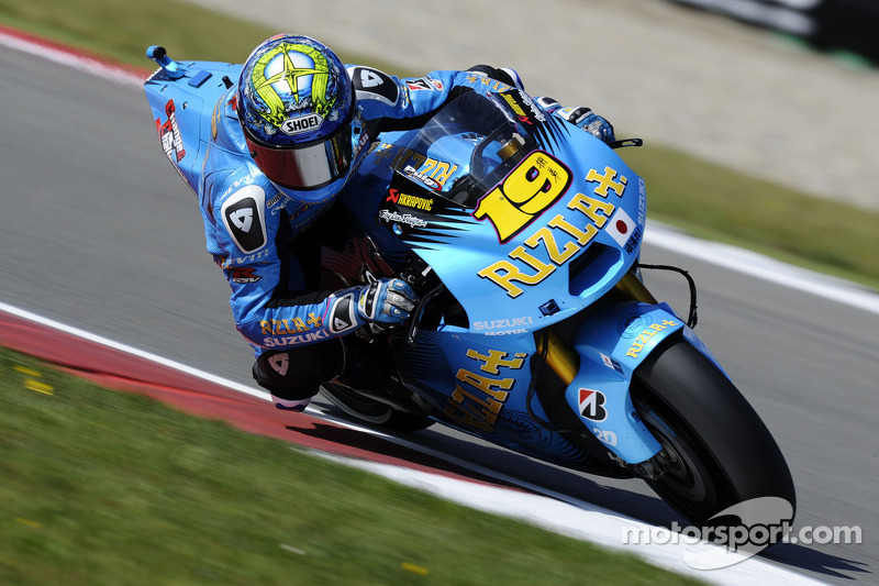 Rizla Suzuki Set For Italian GP