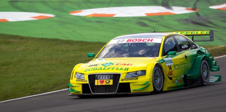 Audi Ready For DTM Race At Norisring