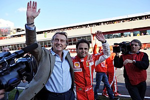 Formula 1 Ferrari 'Very Happy With Massa' - Montezemolo