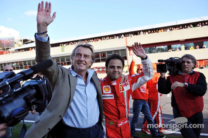 Ferrari 'Very Happy With Massa' - Montezemolo