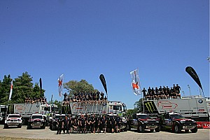 Dakar X-Raid Team Ready For Silk Way Rally Assult