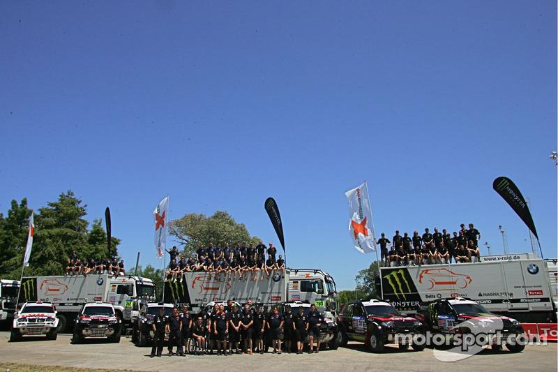 X-Raid Team Ready For Silk Way Rally Assult