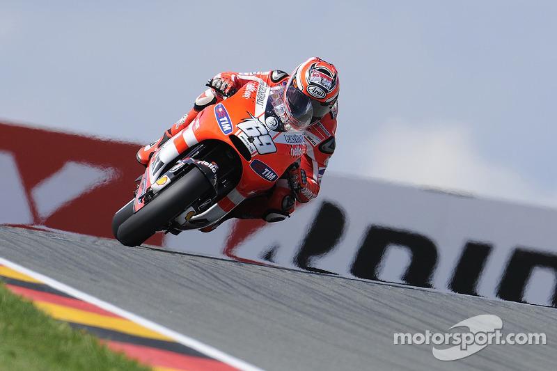 Ducati German GP Friday Report
