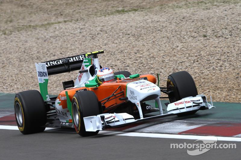 Force India German GP - Nurburgring Race Report