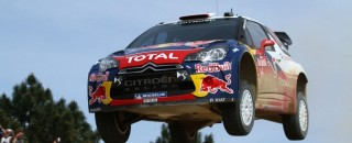 WRC Loeb Leads Rally Finland While Chased By Four Rivals