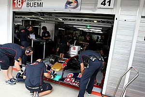 Formula 1 Toro Rosso Hungarian GP Friday Practice Report