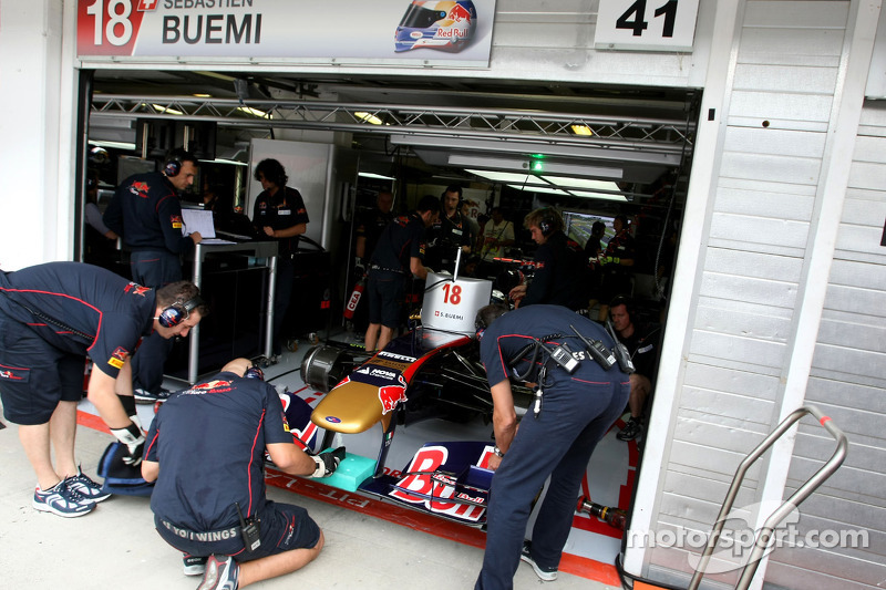 Toro Rosso Hungarian GP Friday Practice Report