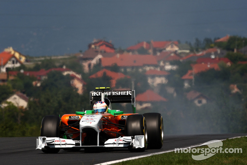 Force India Hungarian GP Qualifying Report
