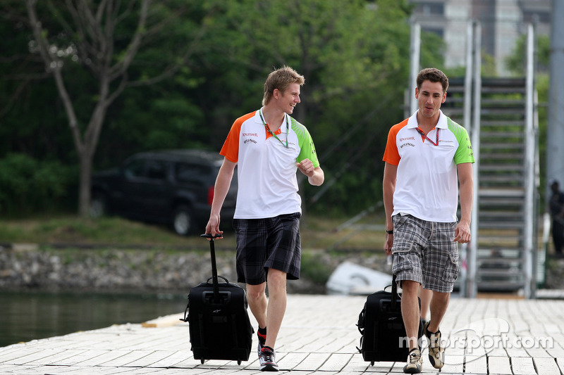 Sutil, Hulkenberg Linked With Barrichello's Seat