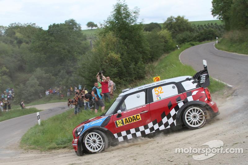 MINI Rally Deutschland leg 1 summary