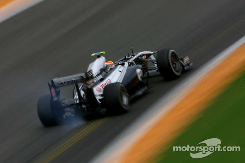 Williams Belgian GP - Spa Friday practice report