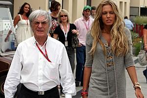 Formula 1 Ecclestone skips wedding day-three for Belgian GP