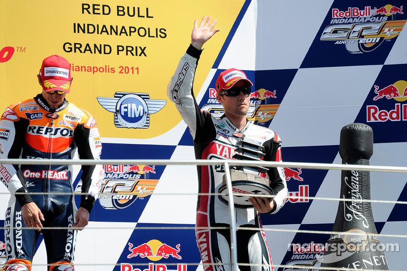 Yamaha Indianapolis GP race report