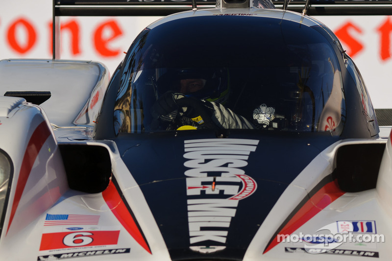 Muscle Milk AMR Baltimore qualifying report