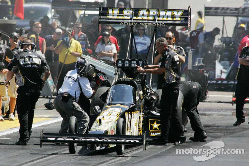 Tony Schumacher Indianapolis Sunday report