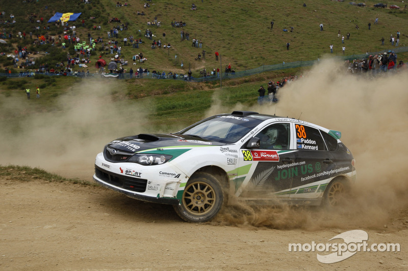 PWRC Support class travles to Rally Australia
