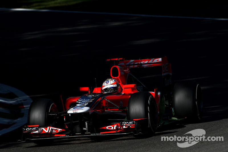Marussia Virgin Italian GP - Monza Friday practice report