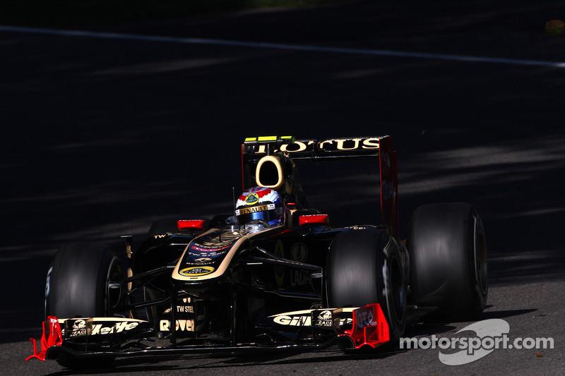 Lotus Renault Italian GP - Monza Friday practice report