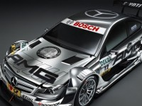 F1 stars unveil DTM AMG Mercedes C-Coupe