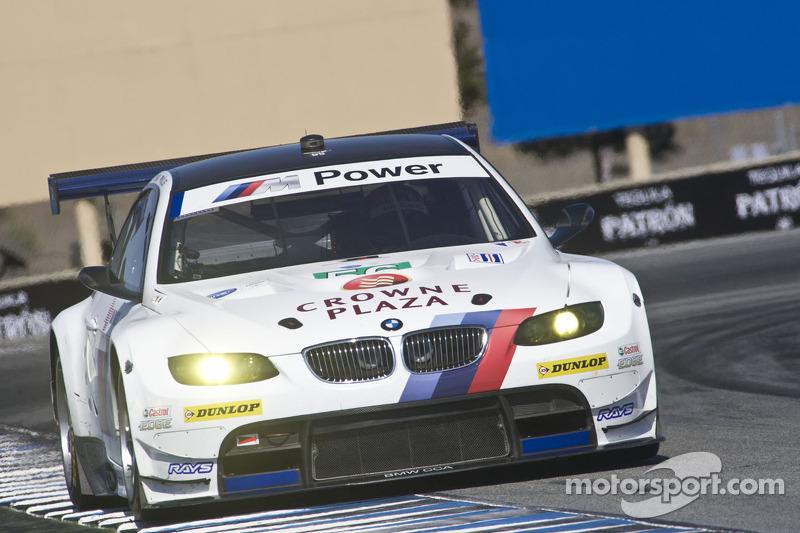 BMW Team RLL Laguna Seca qualifying report