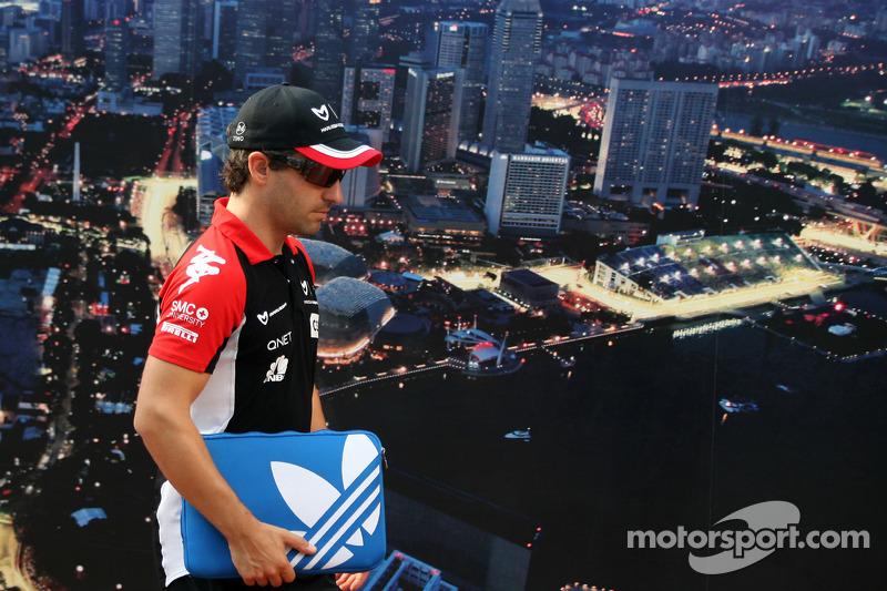 Marussia Virgin Singapore GP race report