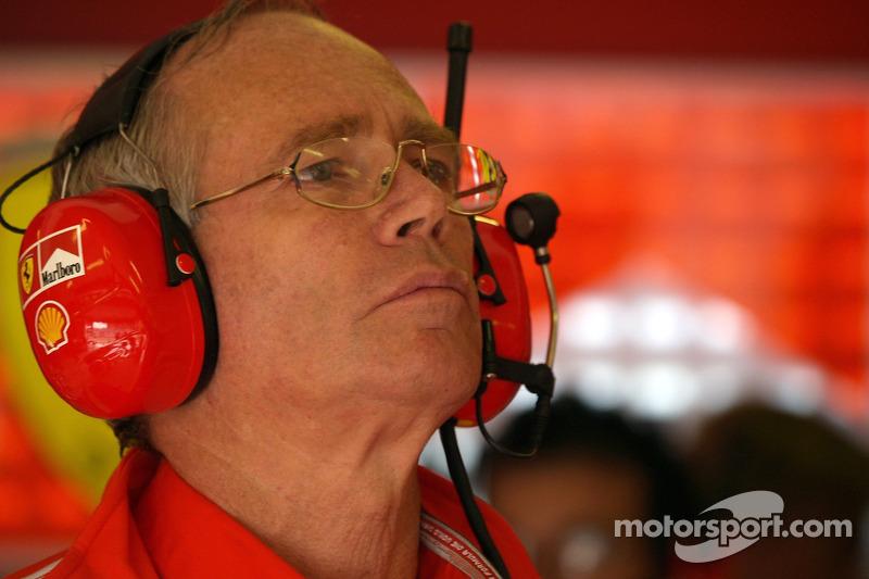 Designer Rory Byrne is back at Ferrari - reports