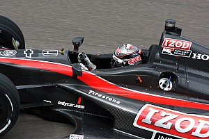 IndyCar Wheldon puts 2012 prototype on the oval at the Brickyard