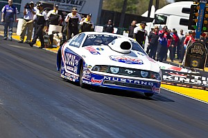 NHRA Larry Morgan Reading Saturday report
