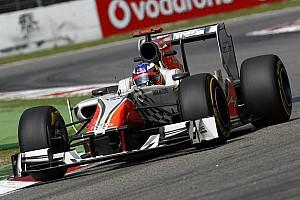 Formula 1 HRT Japanese GP - Suzuka qualifying report