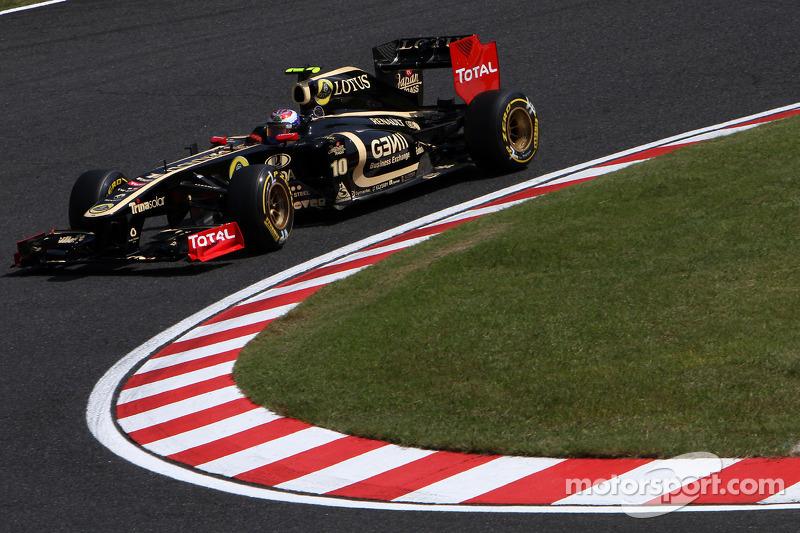 Lotus Renault Japanese GP - Suzuka qualifying report