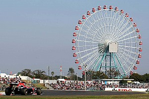 Formula 1 Marussia Virgin Japanese GP - Suzuka race report
