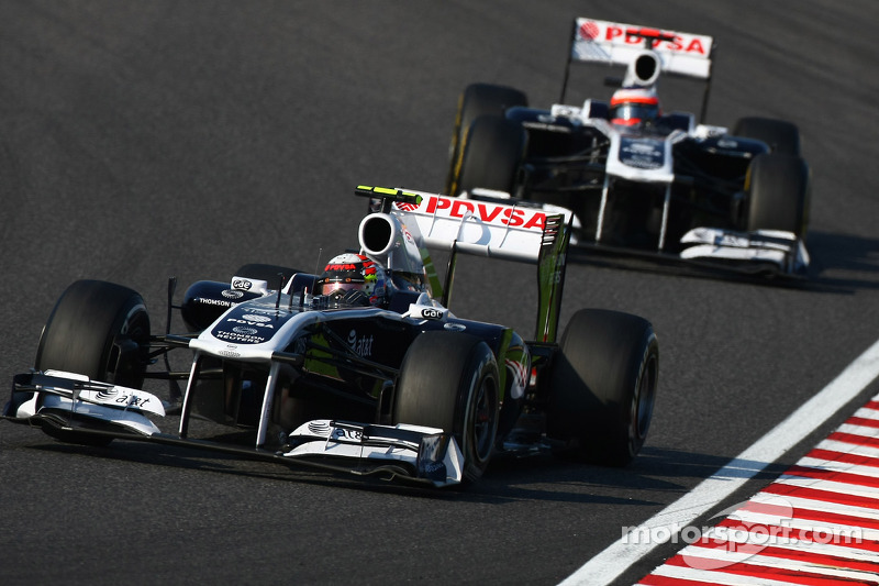 Williams' Mark Gillan about the Japanese Grand Prix at Suzuka