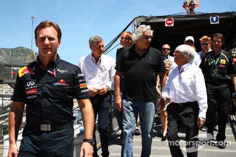 Alonso and Hamilton better than Vettel - Briatore