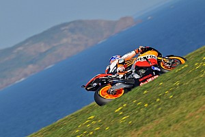 MotoGP Bridgestone Australian GP Friday practice report