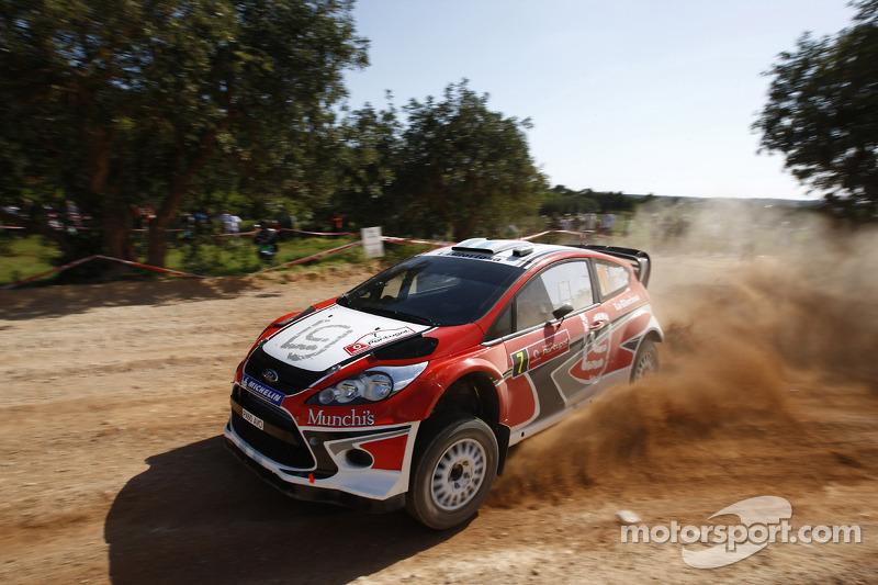 Munchi's Ford heads to Rally de España