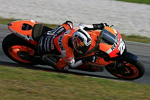 MotoGP Pedrosa lays down hot lap for Malaysian GP pole