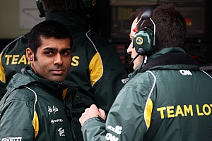 Formula 1 Chandhok and father still unsure of India GP seat