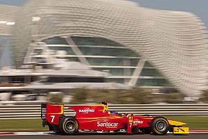 FIA F2 Leimer grabs Abu Dhabi pole in close battle