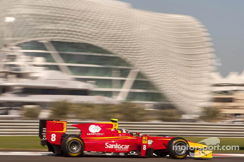 Racing Engineering Abu Dhabi qualifying report