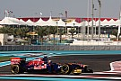 Toro Rosso Abu Dhabi GP race report