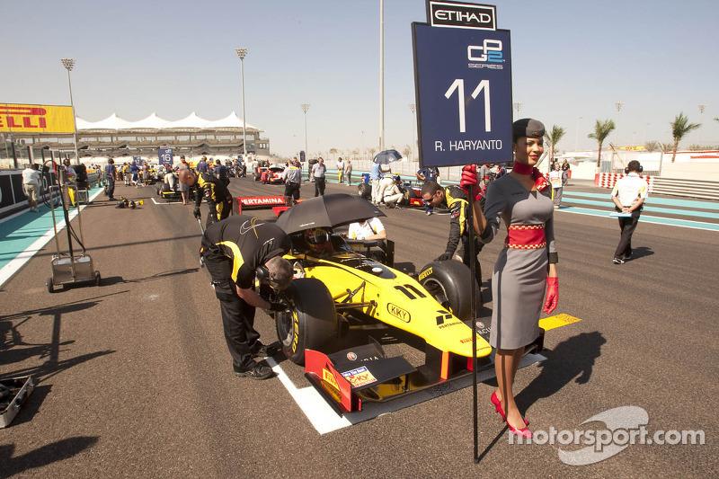 DAMS Abu Dhabi race 2 report