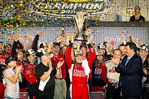 NASCAR Cup Championship winning team press conference