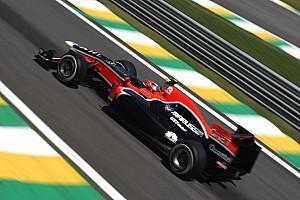 Formula 1 Marussia Virgin Brazilian GP Friday practice report