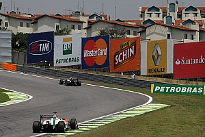 Formula 1 Force India Brazilian GP race report