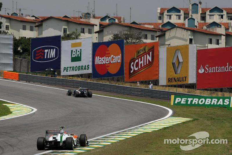 Force India Brazilian GP race report